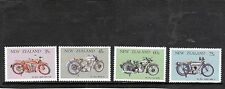 NEW ZEALAND - 1986 U/MINT VINTAGE MOTOR CYCLES SET.