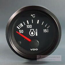 VDO ÖL TEMPERATURANZEIGE 150°  INSTRUMENT OEL GAUGE 12V  52mm Cockpit int.