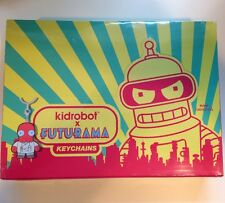 Kidrobot FUTURAMA Keychains CASE of 20 SEALED NEW key chains Blind Box