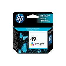 Total 4 New In Box Genuine HP 29 49 Inkjet Cartridges dated 2011 (2 of each)