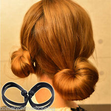2pcs DIY Hair Styling Pigtails Braids Clip Set Bunches Holder Barrette Tool New