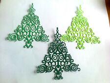 Die cuts of Spellbinders Filigree trees great 4 Christmas card making 8 4 U