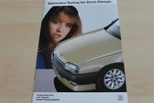141782) Opel Omega A - optisches Tuning - Prospekt 11/1987