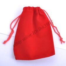 VELVET Jewellery Velvet Drawstring Gift Bag POUCHES Many Colors To Choose