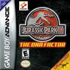 Jurassic Park III: The DNA Factor - Game Boy Advance GBA Game