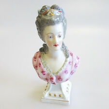 Antique French Samson Porcelain Bust of Marie Antoinette circa 1900