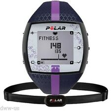 POLAR FT7F BLUE LILAC HEART RATE MONITOR fitness watch HRM+ Chest Strap 90051045