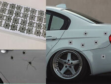 32 Bullet Hole Orifice Sticker Graphic Decal Shothole Car Auto Windows
