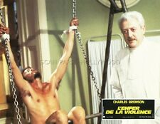 JOSEPH MAHER THE EVIL THAT MEN DO 1984 VINTAGE LOBBY CARD #4