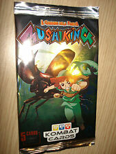 BUSTINA MUSHIKING IL GUARDIANO DELLA FORESTA 5 KOMBAT CARDS 4 CARDS + 1 SPECIALE