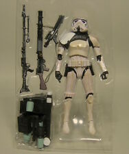 HASBRO STAR WARS BLACK SERIES SANDTROOPER SERGEANT EE EXCLUSIVE LOOSE & MINT