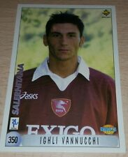 CARD CALCIATORI MUNDI CRONO 2000 SALERNITANA VANNUCCHI FOOTBALL SOCCER ALBUM