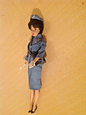 Original Vintage 1958 Barbie Doll as Pan American Airlines / Pan Am Stewardess