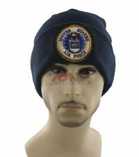 NEW! ROUND US AIR FORCE CAP HAT USAF BEANIE NAVY