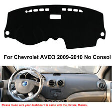 Car Dashboard Mat Dashmat Carpet Cover For Chevrolet AVEO 2009-2010 No Consol