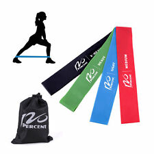 Exercise Resistance Bands Fitness Bands Loop For Pilates Yoga CrossFit Set Of 4