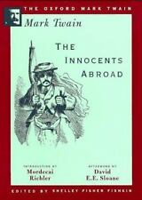 The Innocents Abroad (1869) (The Oxford Mark Twain)-ExLibrary