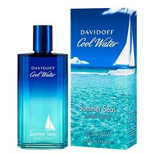 Davidoff Cool Water Summer Seas Limited Edition 125 ml Perfume EDT for Men New