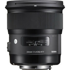 Sigma 24mm f/1.4 DG HSM Art Lens - Canon Fit