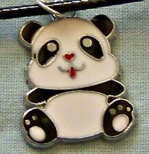 ENAMELLED  ~  PLATED ~  PANDA ~  NECKLACE -- (GREAT_CHRISTMAS_GIFT)