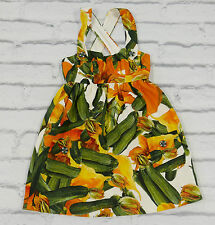 5 A Day: Dolce & Gabbana SS12 Courgette & Crystal Jacquard Sun Dress IT36/UK4