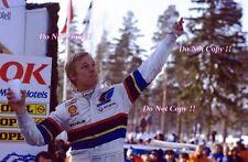Ari Vatanen Peugeot 205 Turbo 16 Winner Swedish Rally 1985 Photograph 7