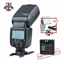 UK Godox V850 Speedlite Flash Flashgun With Improved Lithium-ion Battery+gift
