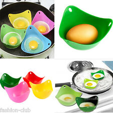 1Pc New Silicone Egg Poacher Poaching Pods Pan Poached Cup Cookare Kitchen Tool