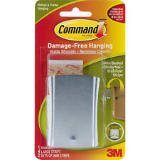 """Command Wire-Backed Sticky Nail-1 Hanger, 4 Large Strips & 2 Mini Strips"""