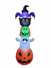 Halloween Inflatable Yard Party Air Blown Decoration Bat Cat Witch Ghost Pumpkin