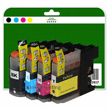 4 Ink Cartridges for DCP-J562DW MFC-J480DW MFC-J680DW MFC-J880DW non-OEM LC223