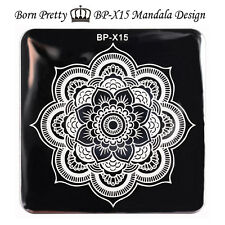 BORN PRETTY Nail Art Stamp Template Image Stamping Plates Floral Design BP-X15