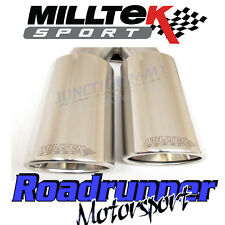 VW Caddy Milltek Exhaust 2.0 TDi 140PS 2WD Particulate Filter Back Res Polish