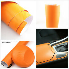 Oranger Carbon Fiber Vinyl Wrap Sticke 3D 4D Textured Car Interior Decal Sticker