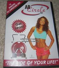 Ab Circle Pro 12 Minutes to Awesome Abs Intermediate Workout DVD Fitness Core