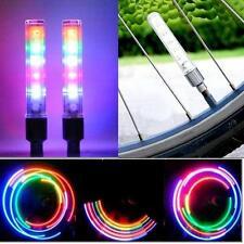 2*Lampe Lumière éclairage Rayon Bicyclette Vélo Pneu Roue Feu Lumière Vélo