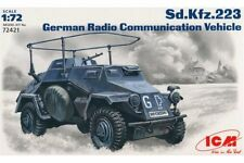 ICM 72421 1/72 German Radio Communication Vehicle Sd.Kfz. 223
