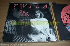 Twila Paris 1988 USA CD For Every Heart (made by Discovery Systems)