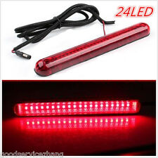24 LED CHMSL Car High Mount Third 3RD Brake Stop Tail Light Lamp Windshield