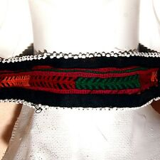 Turkmani ATS Afghani Kuchi Tribal Embroidered CHOKER 798c9