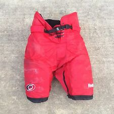 REEBOK 520 Pro Stock Large Hockey Pants Carolina Hurricanes 2088