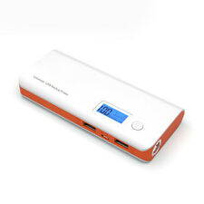 50000mAh Power Bank 2 USB LED LCD Battery Charger For iPhone For Samsung Galaxy