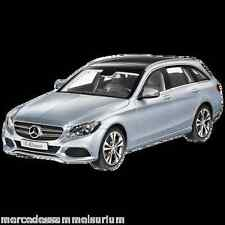Mercedes Benz S 205 C Klasse/C Class T Modell/Estate Avantgarde Silber 1:18 Neu