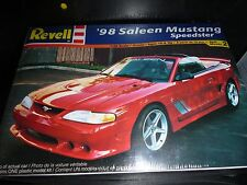 REVELL 1998 FORD MUSTANG SALEEN SPEEDSTER 1/25 Model Car Mountain KIT sf
