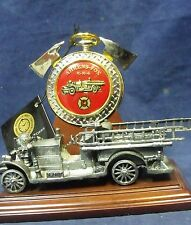 Franklin Mint 1922 Ahrens Fox Pumper Pocket Watch New with Tag