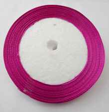 Free Shipping pretty 25 Yards 1/4(6mm)Satin Ribbon Wedding Party Supply   RE12