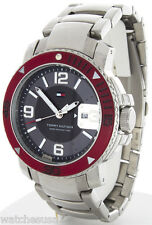 Tommy Hilfiger Grey Dial Stainless Steel Bracelet Analog Quartz Mens Watch