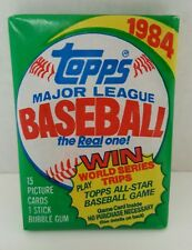 VINTAGE 1984 TOPPS BASEBALL (1) WAX PACK - RC Possible Don Mattingly Rookie
