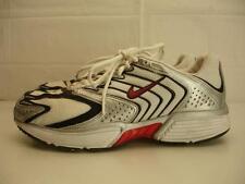 mens 9.5 43 nike air zoom elite running shoes black white red silver vtg sneaker