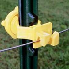NEW FI-SHOCK ITSOY-FS* PACK (25) T POST ELECTRIC FENCE INSULATORS SALE 6865679
